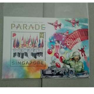 Singapore Stamp 50years