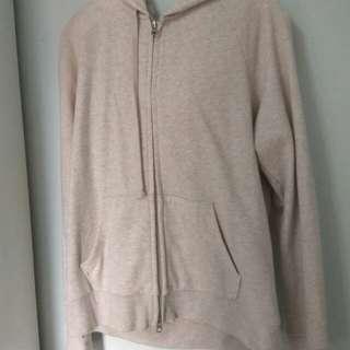 Uniqlo Beige/Cream Coloured Sweater/Jacket