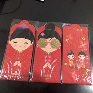 2018 dbs treasures red packet hong Bao Ang pow