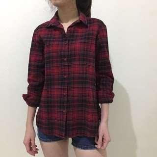 Tartan Wool Shirt
