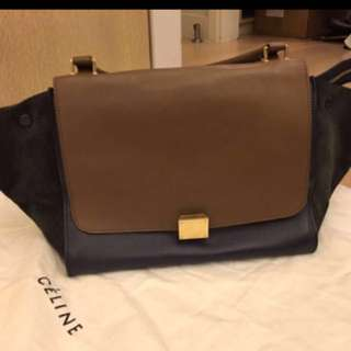 Celine trapeze bag multicolour