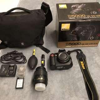 Nikon D5000 camera