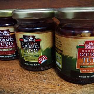 Gourmet Tuyo in Extra Virgin Olive Oil