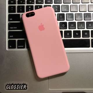 AUTHENTIC APPLE SILICONE CASE IPHONE6/S (PINK)