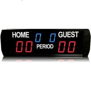 Hi-Resolution LED Scoreboard