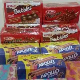 Apollo Bubble & Checker chocolate