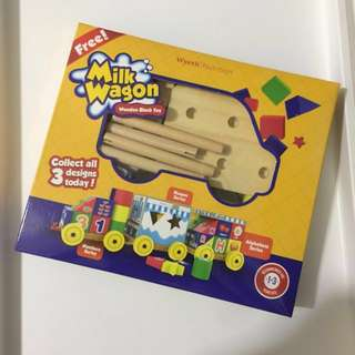 🆕Wooden Block Toys - Alphabets Series