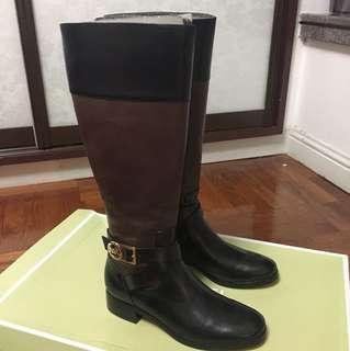 Michael Kors 真皮tall boot 靴