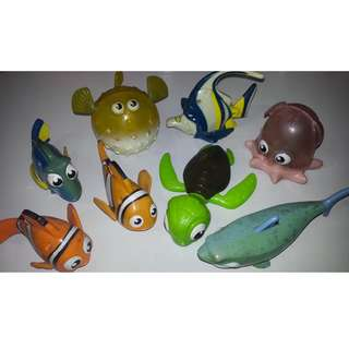 Finding Nemo Toys Collection from MCDO Set
