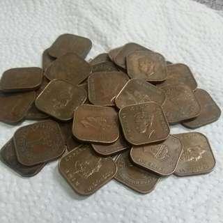 MALAYA 1941i 1Cent King( $1,50 Each)