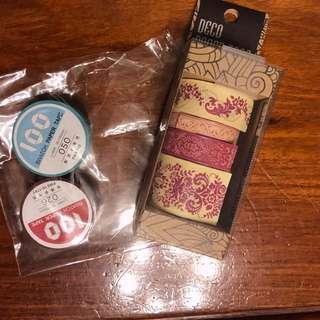 Deco Paper Tapes/Masking Tape