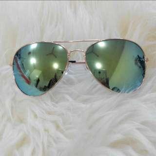 Kacamata fashion green