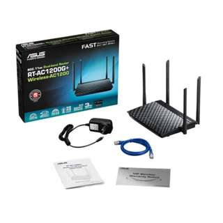 ASUS DUAL BAND ROUTER WIRELESS RT-AC1200G+
