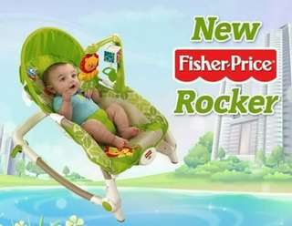 Fisher Price Rainforest New Rocker