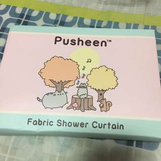 Pusheen (shower curtain)