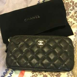 Chanel clutch with chain 98%新 (超新淨,只可小議)