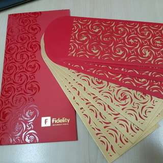 Fidelity Red & Gold Red Packet