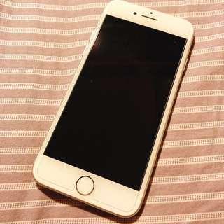 iPhone 7 128gb 銀色連盒連配件連原裝殻