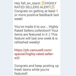 Highly Rated Seller!! <3