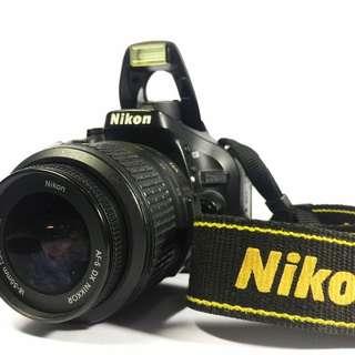 Nikon D5200 18-55mm VR Kit (with Benro T600EX tripod)