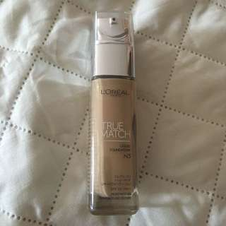 L'Oréal True Match Liquid Foundation