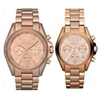 Authentic MK Couple WATCH