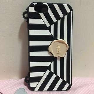 Cliché iPhone6s 黑白軟殻