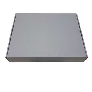 Grey Color Plain Boxes A4 Size 310 x 250 x 50mm  in 5 pieces pack