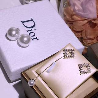Dior earrings 925