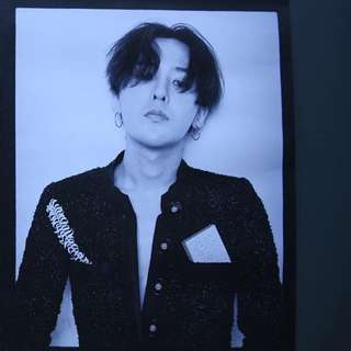 G-Dragon mademoiselle poster
