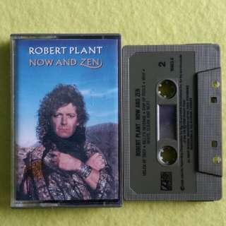 ROBERT PLANT.(Led Zeppelin vocalist) now and zen. Cassette tape not vinyl record
