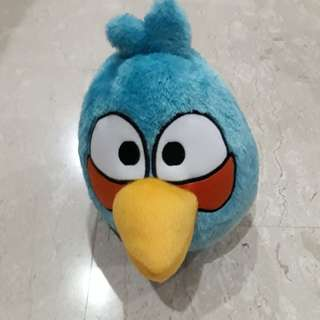 NEW Angry Bird Blue Stuffed Toy
