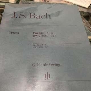 Bach partita no.1-3 (ATCL)