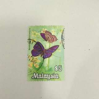 1970 National Butterflies $5