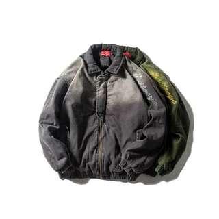 🇯🇵日系新款復古洗水保暖棉衣厚外套