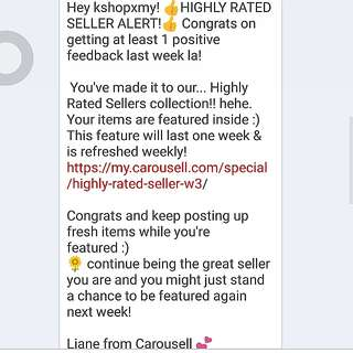 Highly Rated Seller Alert ! ♥