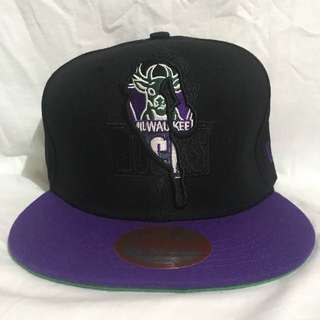 Milwuakee Bucks New Era Violet