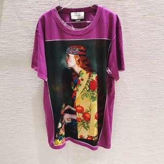 GG Gucci 古奇 GG藝術家系列 T恤 尺碼  S M L 女裝