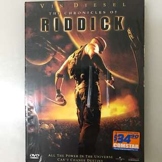 DVD Movie - Vin Diesel The Chronicles Of Riddick