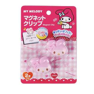 My Melody magnet clips stationery notes school