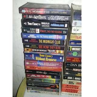 Old Pocketbooks For Sale - Any book for P80 PART 1