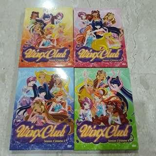 Winx Club Season 3 DVD Set