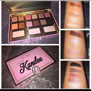 Too Faced ( I Want Kandee) Pallette