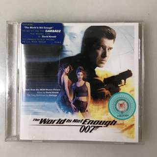 Movie CD - The world is not enough 007