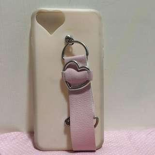iPhone 7 Plus 粉紅色心心case