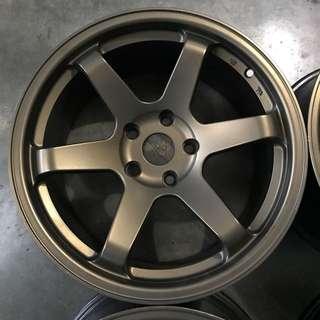 Rim Rays TE37 Rota 17 inch 9JJ