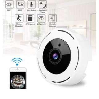 Wireless IP Camera - 360 Fisheye Panoramic CCTV Camera