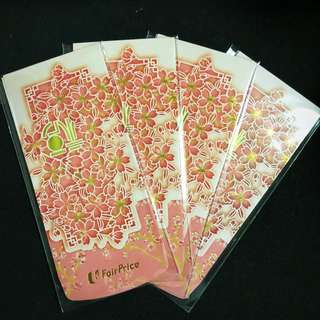 Red Packets Hong Bao Laisee FairPrice 2018