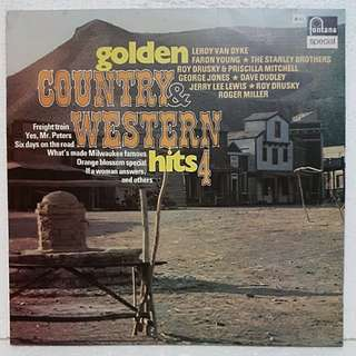 Golden Country & Western Hits 4 Vinyl Record