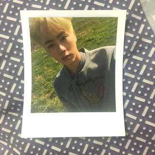 BTS Young Forever Jin's Photocard
